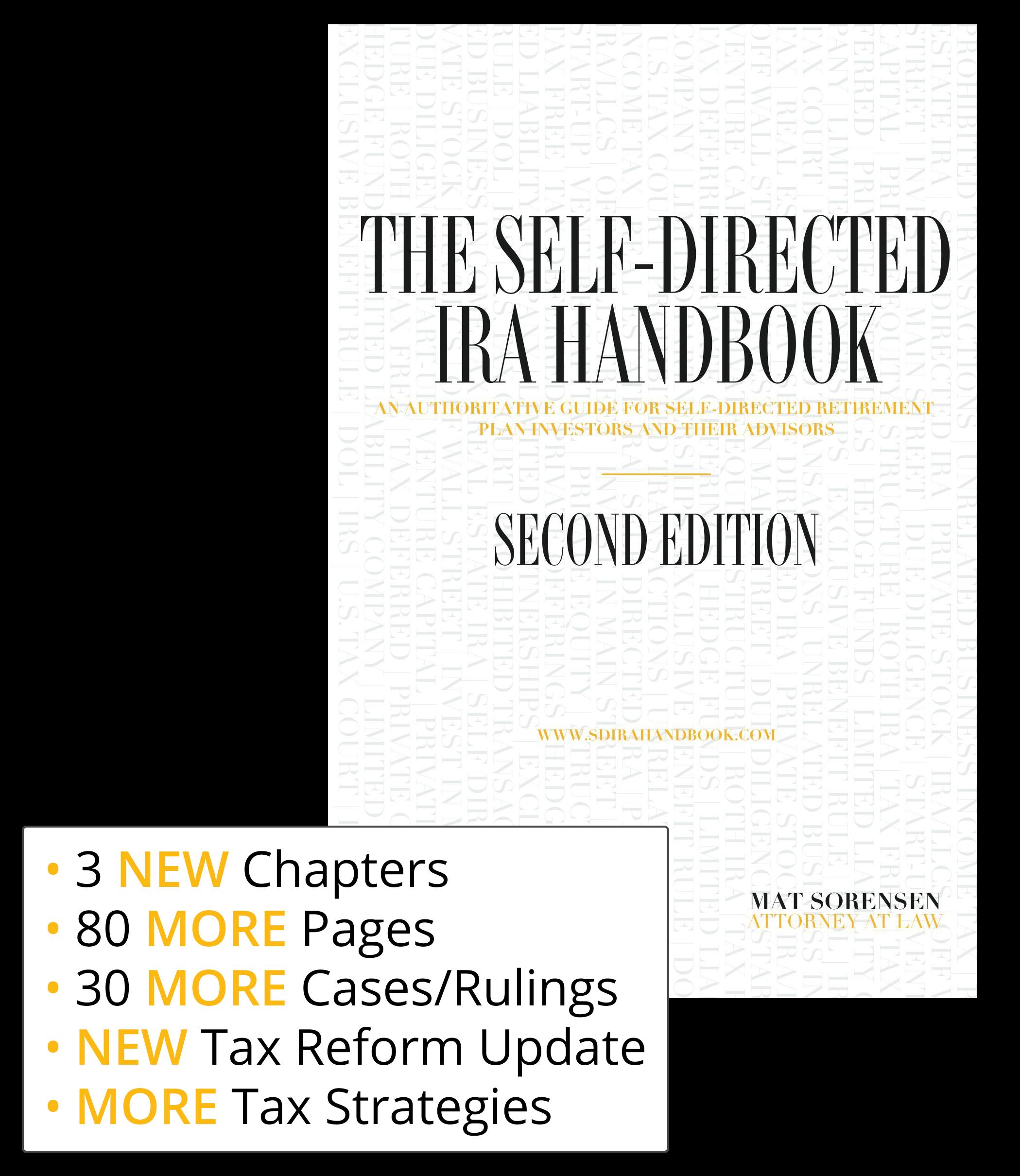 The Self Directed IRA Handbook