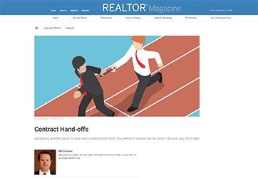 Contract Hand-offs
